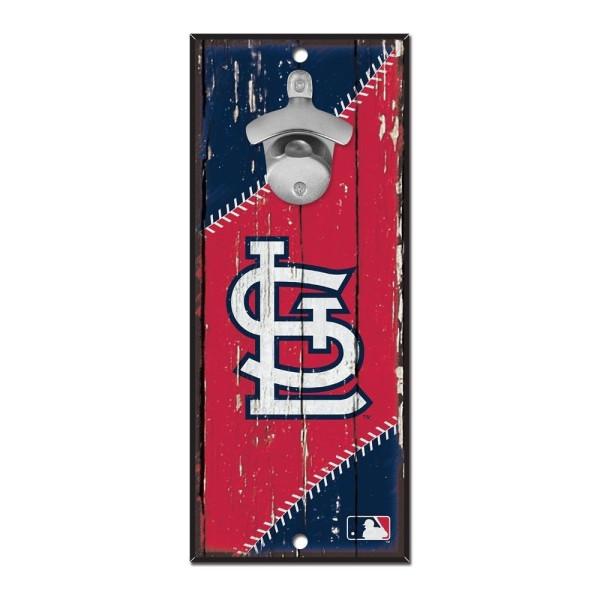 St. Louis Cardinals MLB Schild mit Flaschenöffner