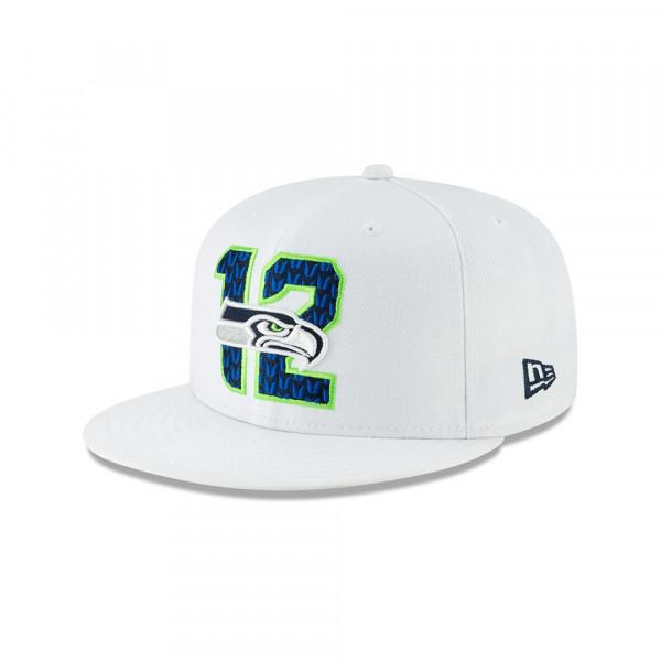 meet 40315 82c68 New Era Seattle Seahawks 2019 NFL Draft 59FIFTY Fitted Cap Spotlight   TAASS .com Fan Shop
