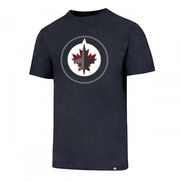 Winnipeg Jets Club Logo NHL T-Shirt