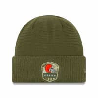 Cleveland Browns 2019 On-Field Salute to Service NFL Beanie Wintermütze