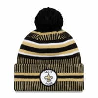 New Orleans Saints 2019 NFL Sideline Sport Knit Wintermütze Home