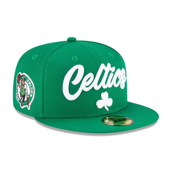 Boston Celtics Alternate Authentic 2020 NBA Draft New Era 59FIFTY Fitted Cap