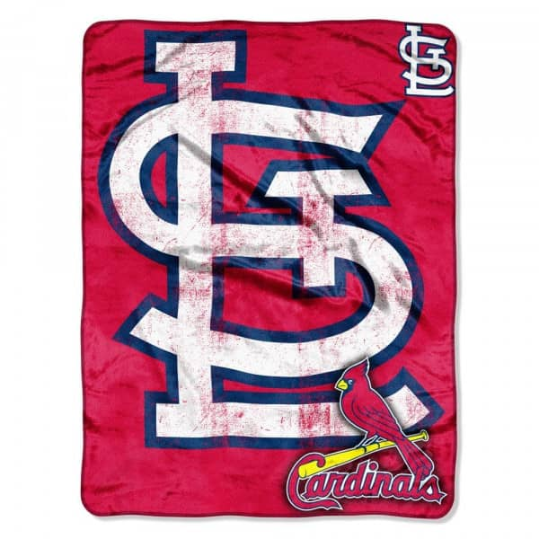St. Louis Cardinals Micro Raschel MLB Decke
