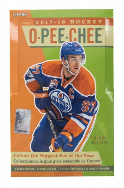 2017/18 Upper Deck O-Pee-Chee Hockey Hobby Box NHL