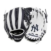 """New York Yankees 10"""" (25,40 cm) Tee-Ball-Handschuh A200 Rechtswerfer"""
