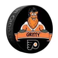 Philadelphia Flyers Gritty Mascot NHL Souvenir Puck