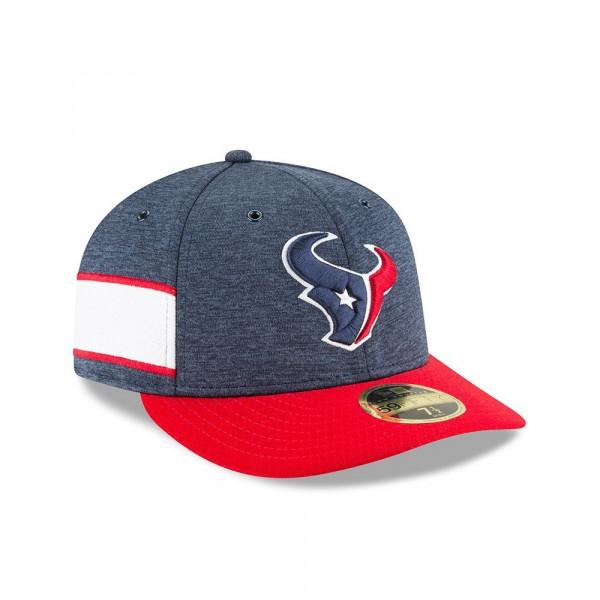 Houston Texans 2018 NFL Sideline Low Profile 59FIFTY Cap Home
