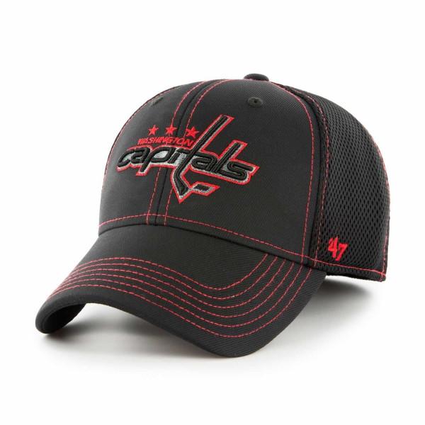 47 Brand Washington Capitals Stronaut Contender Flex NHL Cap Schwarz ... bfb57ad14979