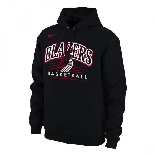 Portland Trail Blazers Crest Logo NBA Hoodie