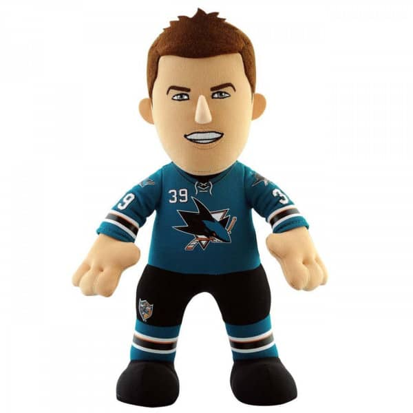 Logan Couture San Jose Sharks NHL Plüsch Figur