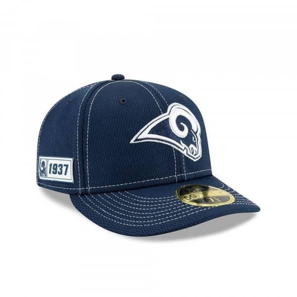 Los Angeles Rams 2019 NFL On-Field Sideline Low Profile 59FIFTY Cap Road