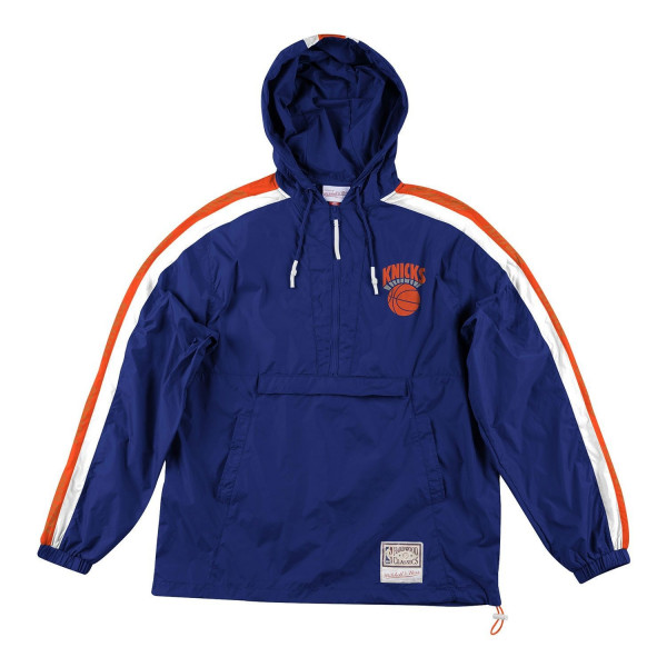 New York Knicks Packable Nylon Anorak Jacke