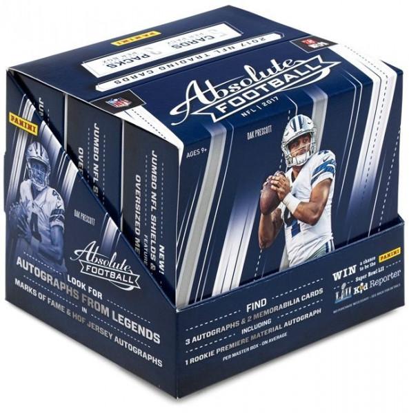 2017 Panini Absolute Football Hobby Box NFL