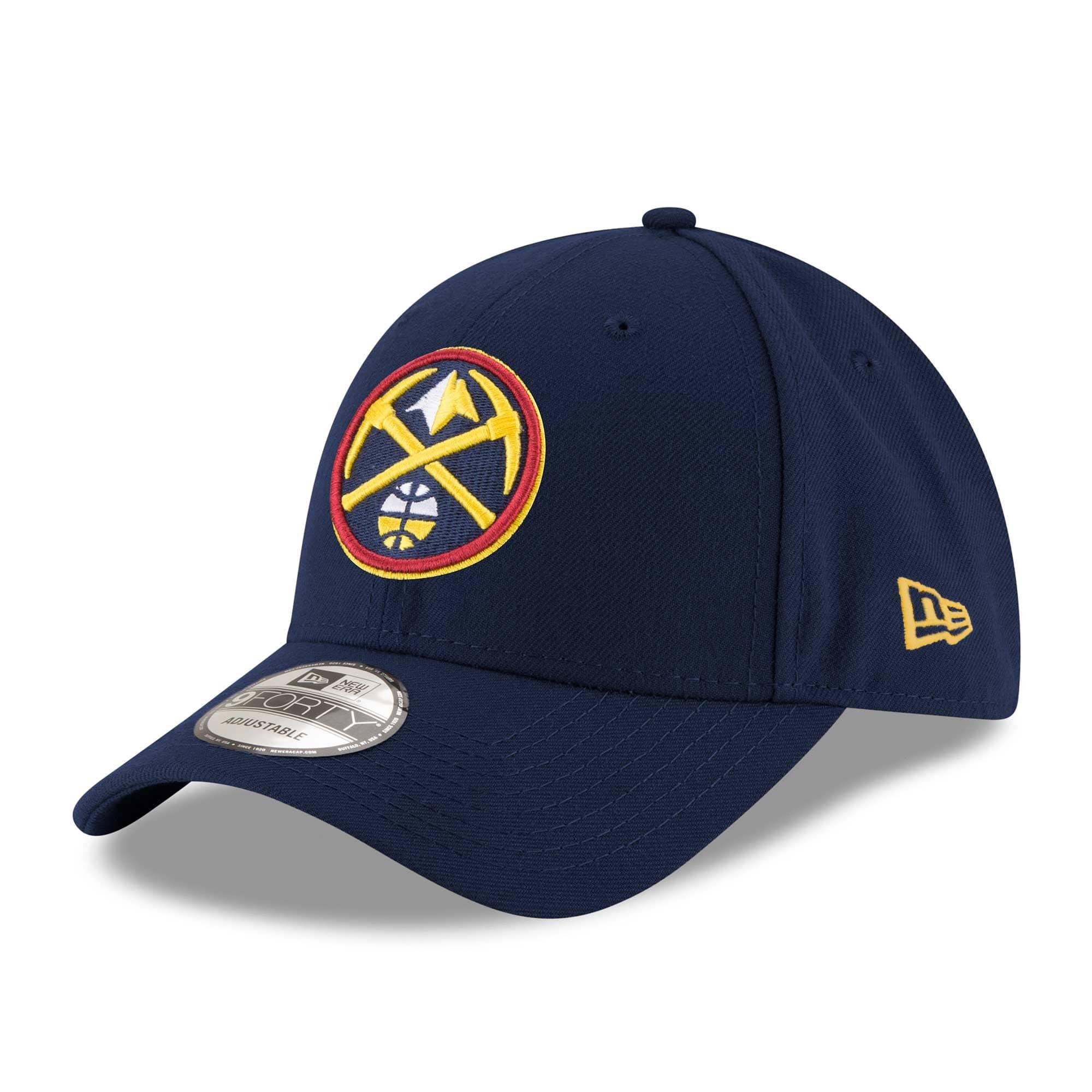 buy online d78ba 192a8 New Era Denver Nuggets The League Adjustable NBA Cap Navy   TAASS.com Fan  Shop
