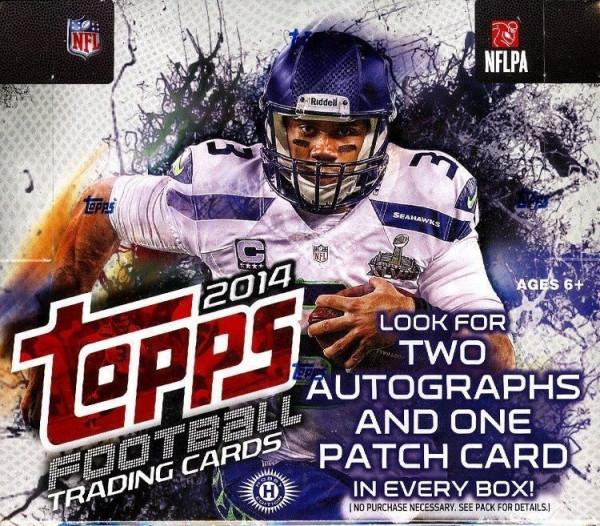 2014 Topps Football Jumbo Box NFL