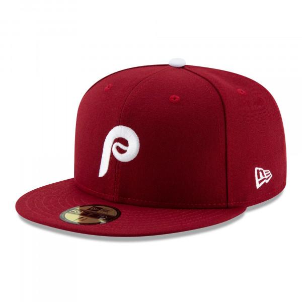Philadelphia Phillies Authentic New Era 59FIFTY Fitted MLB Cap Alternate 2