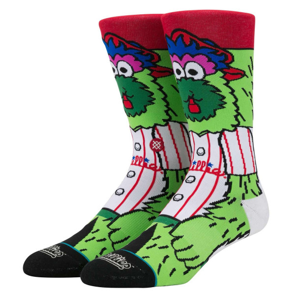 Philadelphia Phillies Phillie Phanatic Maskottchen MLB Socken