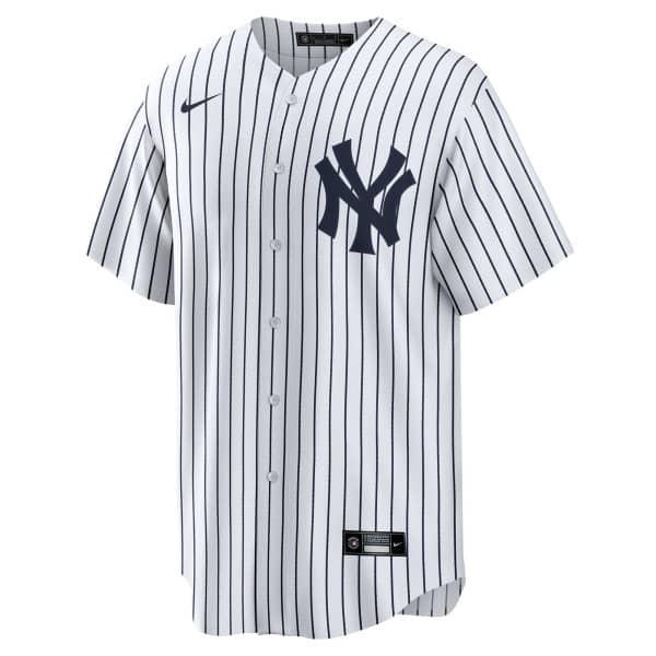 New York Yankees 2020 Nike MLB Replica Home Trikot Pinstripe