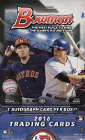 2016 Bowman Baseball Hobby Box MLB