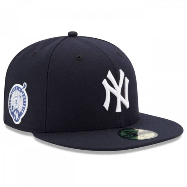 New York Yankees Jeter Captain Patch 59FIFTY Fitted MLB Cap