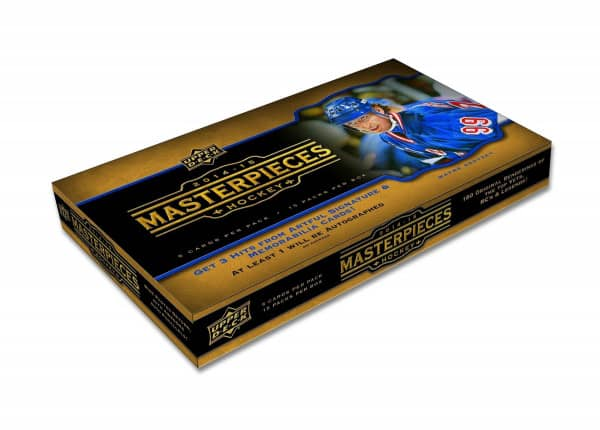 2014/15 Upper Deck Masterpieces Hockey Hobby Box NHL