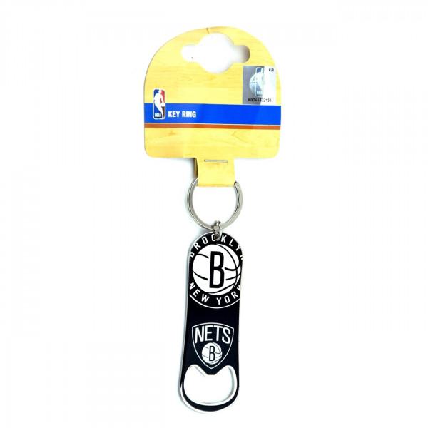 Brooklyn Nets Flaschenöffner NBA Schlüsselanhänger
