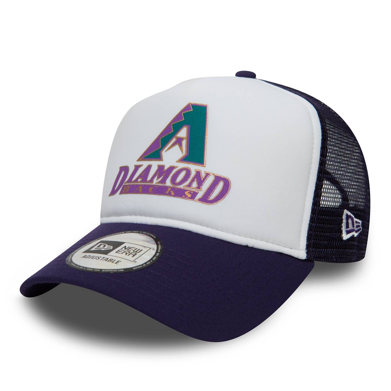 another chance 3055e 90684 New Era Arizona Diamondbacks Coast To Coast Trucker Adjustable MLB Cap    TAASS.com Fanshop