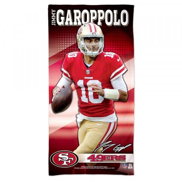 Jimmy Garoppolo San Francisco 49ers WinCraft Spectra NFL Strandtuch