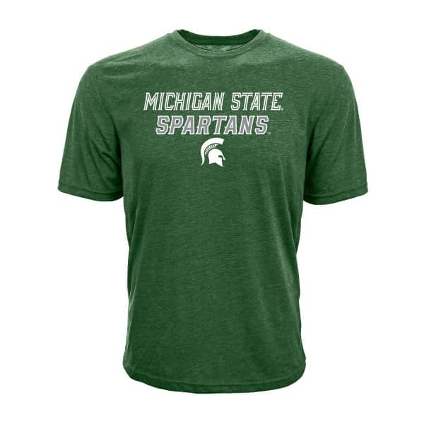 Michigan State Spartans Slant Route NCAA T-Shirt