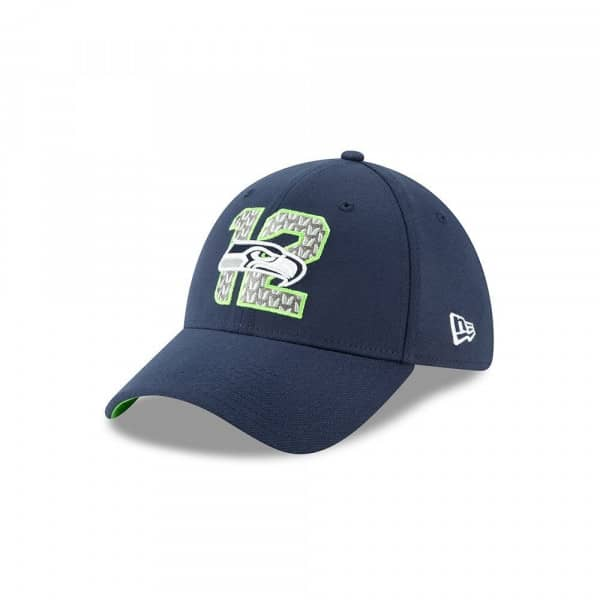 Seattle Seahawks 2019 NFL Draft On-Stage 39THIRTY Stretch Fit Cap