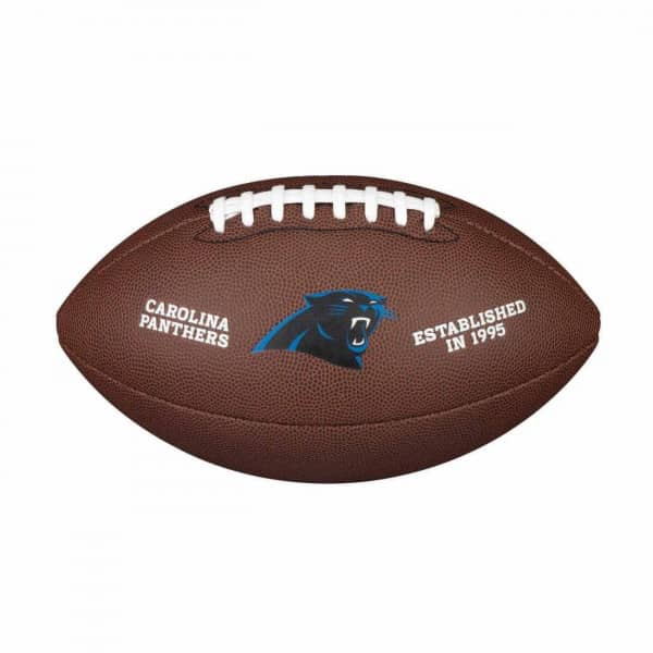 Carolina Panthers Composite Full Size NFL Football