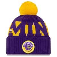 Minnesota Vikings Official 2020 NFL Sideline New Era Sport Knit Wintermütze