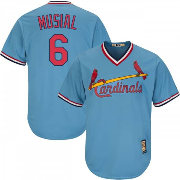 Stan Musial #6 St. Louis Cardinals Cool Base MLB Trikot