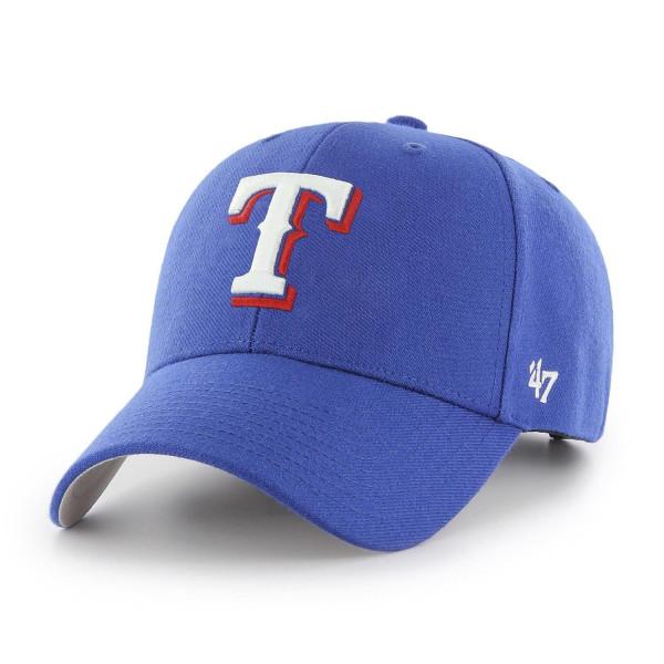 Texas Rangers '47 MVP Adjustable MLB Cap Home Blau