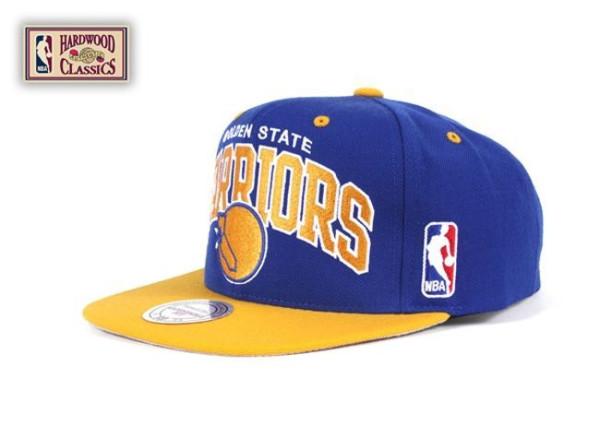 Golden State Warriors Team Arch Snapback NBA Cap