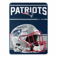 New England Patriots Run Super Plush NFL Decke
