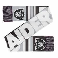 Las Vegas Raiders Colorblock Big Logo NFL Schal
