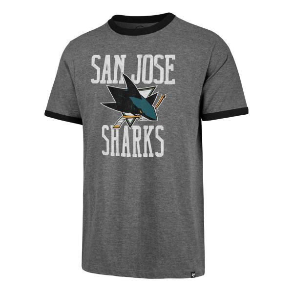 San Jose Sharks Belridge Ringer NHL T-Shirt