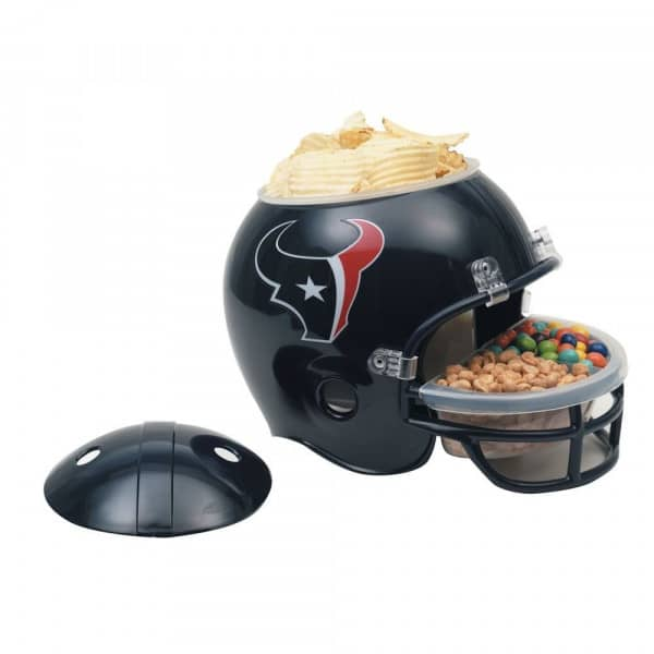 Houston Texans Football NFL Snack Helmet