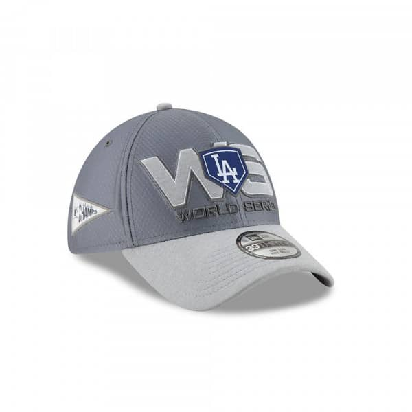 Los Angeles Dodgers 2018 NL Champions Locker Room 39THIRTY Flex Cap