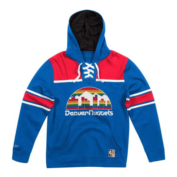 Denver Nuggets Lacer Jersey Hoodie NBA Sweatshirt