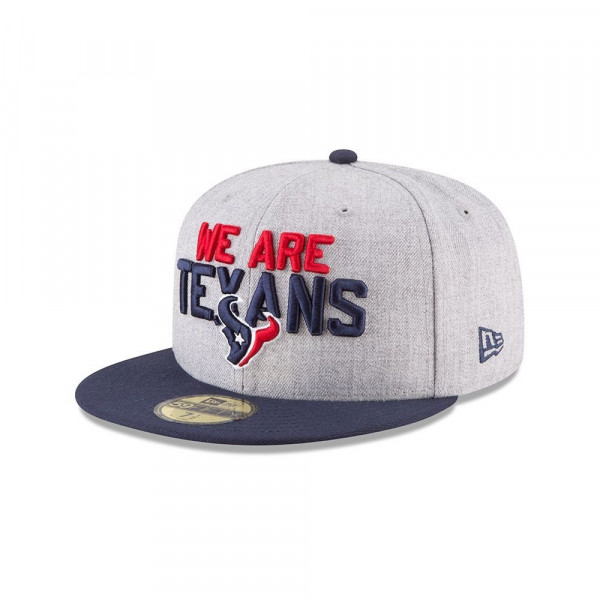 Houston Texans 2018 NFL Draft 59FIFTY Fitted Cap