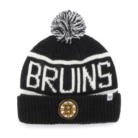 Boston Bruins Black Wraparound NHL Wintermütze