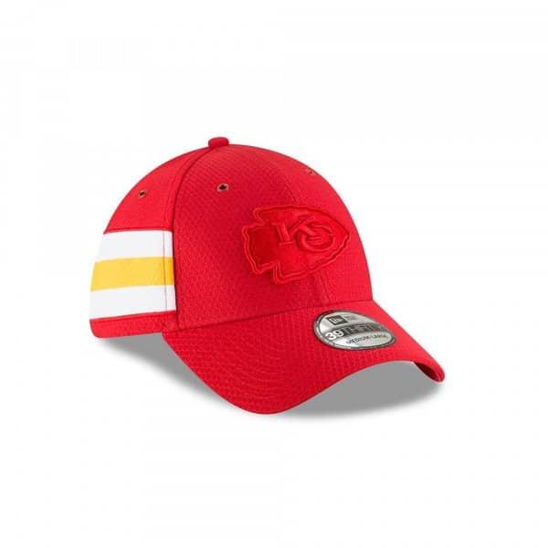 newest 428fb 0b8a5 Kansas City Chiefs 2018 Color Rush 39THIRTY NFL Flex Cap