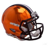 Cleveland Browns NFL Chrome Alternate Speed Mini Helm