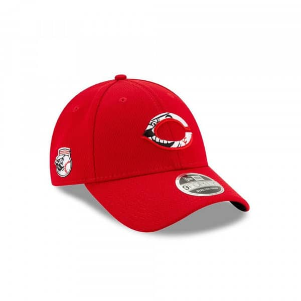 Cincinnati Reds 2020 Spring Training Stretch-Snap 9FORTY MLB Cap