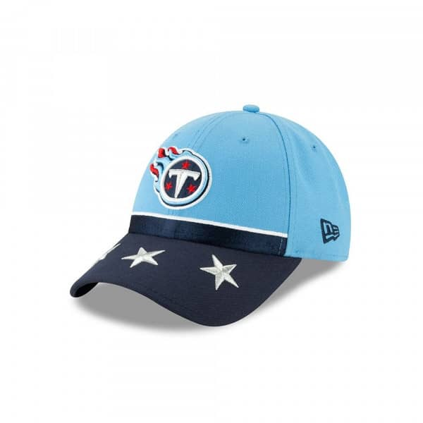 big sale 7b542 a7e1e New Era Tennessee Titans 2019 NFL Draft 9FORTY Adjustable Cap On-Stage    TAASS.com Fan Shop