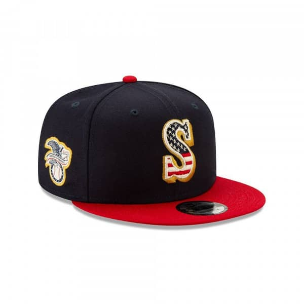 Seattle Mariners 4th of July 2019 MLB 9FIFTY Snapback Cap