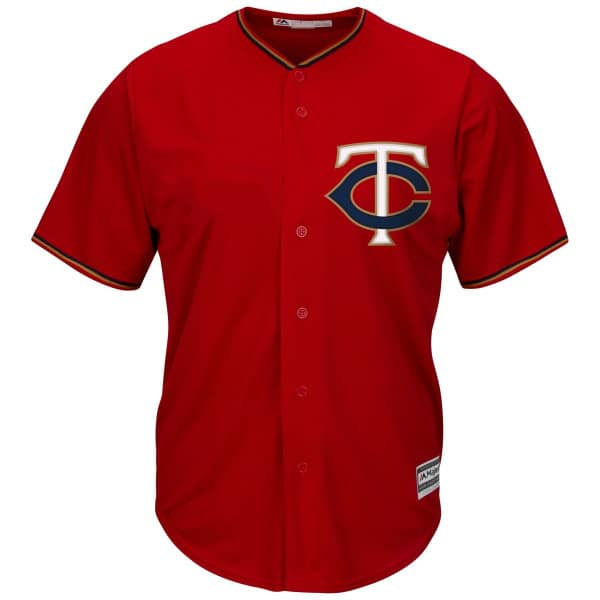 Minnesota Twins Cool Base MLB Trikot Alternate Rot