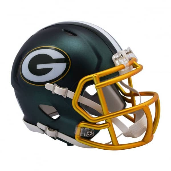 Green Bay Packers NFL Blaze Alternate Speed Mini Helm